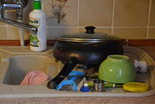 Brudne naczynia mogą poczekać…