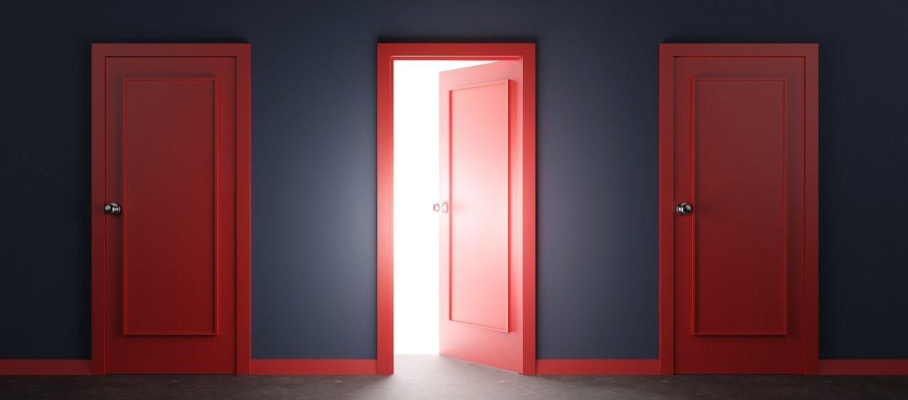 Serio, znowu drzwi?