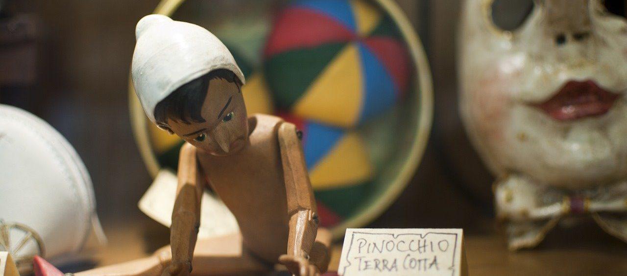 Pinokio potknie się o własny nos