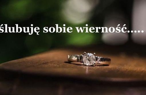 I ślubuję Ci wierność
